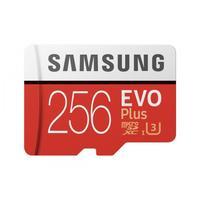 Карта памяти 256 Гб microSDXC Samsung EVO Plus Class 10 (MB-MC256HA/RU)
