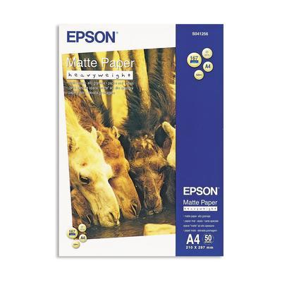 Фотобумага универсальная Epson S041256 односторонняя (матовая, А4, 167 г/кв.м, 50 листов, артикул производителя C13S041256)