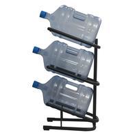 Стеллаж для бутилированной воды Бридж-3 на 3 тары по 19л черный
