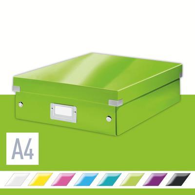 Короб-органайзер Leitz Click&Store зеленый