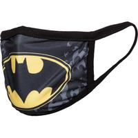 Маска для лица защитная Priority Бэтмен черная/желтая