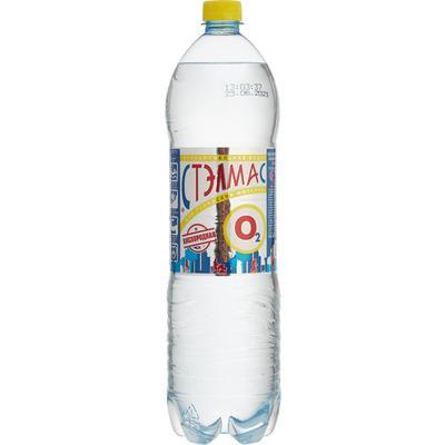 Вода питьевая Стэлмас О2 Кислород негазированная 1.5 л (6 штук в упаковке)
