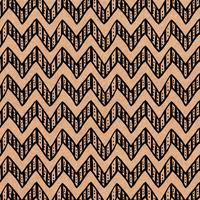 Бумага упаковочная Miland Зиг Заг коричневая/черная (10 листов в рулоне,  70x100 см)