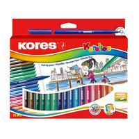 Фломастеры Korellos Kores 24 цвета