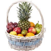Подарочная фруктовая корзина Фруктовый микс 5.2 кг