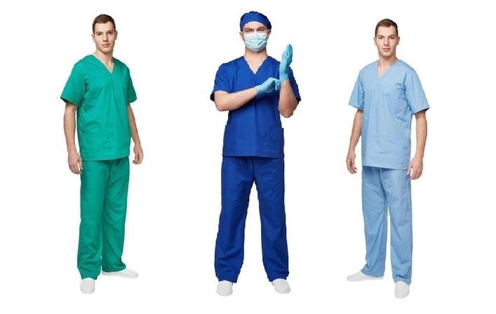 Коллекция медицинской униформы Хирург-image