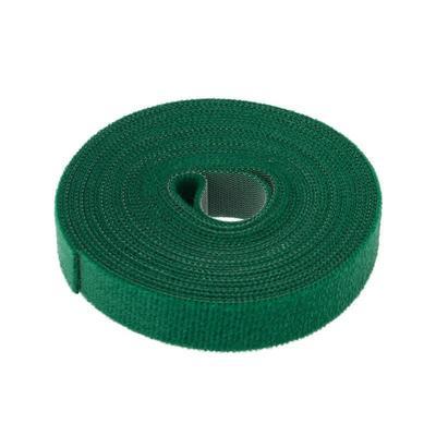 Стяжка Rexant многоразовая 5м х 20мм зеленая 1 штука
