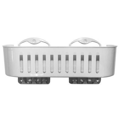 Полка для ванной Грация прямая белая EK-513