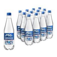Вода минеральная Славяновская газированная 0.5 л (12 штук в упаковке)