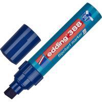 Маркер для бумаги для флипчартов Edding E-388/003 синий (толщина линии 4-12 мм) конусообразный наконечник