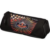 Пенал-косметичка Herlitz Triangular Formula 1 черный