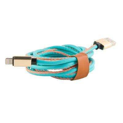Кабель Red Line USB - Lightning 8-pin 2 м синий