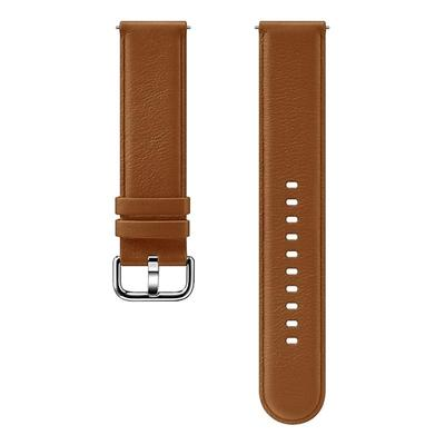Ремешок для смарт-часов Samsung Galaxy Watch Active/Active2 коричневый
