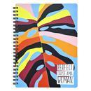 Бизнес-тетрадь Be Smart Abstract A5 120 листов разноцветная в клетку на спирали (156x207 мм)
