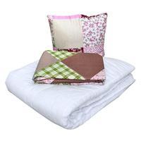 Набор 1-спальный (одеяло 140x205 см, подушка 50x50 см, комплект  постельного белья)