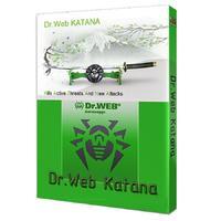 Антивирус Dr.Web Katana продление для 4 ПК на 12 месяцев (электронная лицензия, LHW-KK-12M-4-B3)