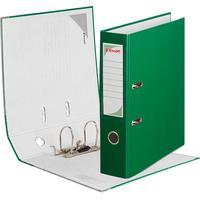 Папка-регистратор Комус Экономи 75 мм зеленая