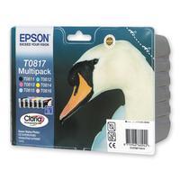 Картридж струйный Epson C13T11174A10 оригинальный цветной повышенной емкости