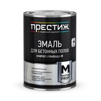 Эмаль для бетонных полов Престиж коричневая 10 кг