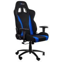 Кресло игровое Arozzi Inizio Fabric синее/черное (ткань, пластик)