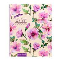 Тетрадь на кольцах Проф-пресс Нежные цветы А5 160 листов в клетку