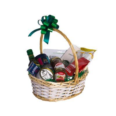 Корзина подарочная продуктовая Азбука Праздника Мелодия Рождества