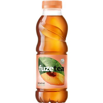 Чай холодный FuzeTea персик 0.5 л (12 штук в упаковке)