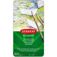 Карандаши акварельные Derwent Academy Watercolour Tin 12 цветов