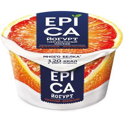 Йогурт Epica с красным апельсином4.8%130 г