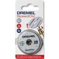 Круг отрезной Dremel Speed clic SC456 5 штук в упаковке 38 мм (2615S456JC)
