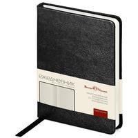 Ежедневник недатированный Bruno Visconti Megapolis искусственная кожа А6 100 листов черный (88x131 мм) (артикул производителя 3-283/02)