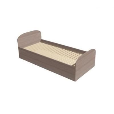 Кровать полутороспальная МК Гостиница (ясень шимо светлый, 940x2040x690 мм)