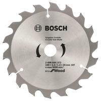 Диск пильный Bosch Eco wood 160х20/16 мм Z18 (2608644372)