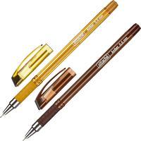 Ручка шариковая Attache Amber синяя (толщина линии 0.6 мм)