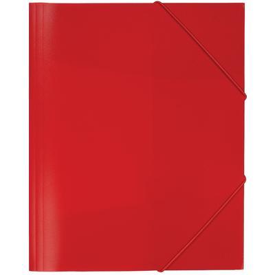 Папка на резинках Attache Economy A4 35 мм пластиковая до 300 листов красная (толщина обложки 0.5 мм)