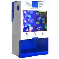 Дозатор для антисептика Next Pro сенсорный алюминий с информационным экраном 5 л