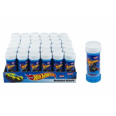 Мыльные пузыри 1toy Hot Wheels 50 мл (36 штук в упаковке)