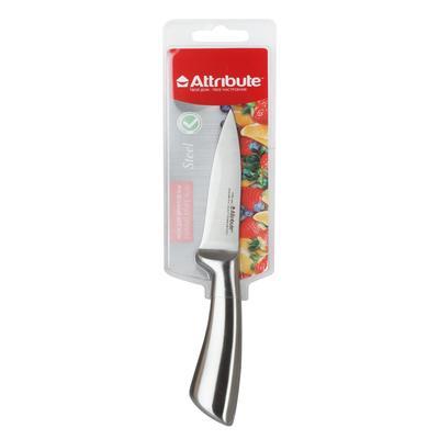 Нож кухонный Attribute Steel для фруктов лезвие 9 см (артикул производителя AKS504)