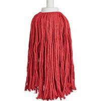 Насадка МОП веревочная A-VM Алабама хлопок 30 см красная