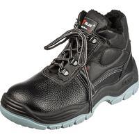 Ботинки утепленные Lider натуральная кожа черные размер 40