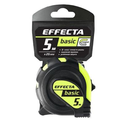 Рулетка Basic Effecta с магнитом Basic 5 м x 25 мм 570525