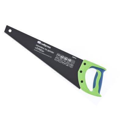 Ножовка по дереву 400 мм шаг зубьев 3.5 мм Сибртех (23810)