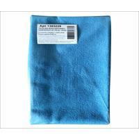 Тряпка для пола микрофибра 50х60 см синяя 180 г/кв.м