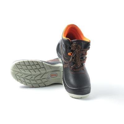 Ботинки Мистраль натуральня кожа черные размер 50 (105251)