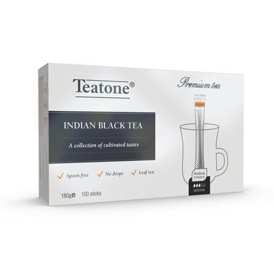 Чай Teatone черный 100 стиков
