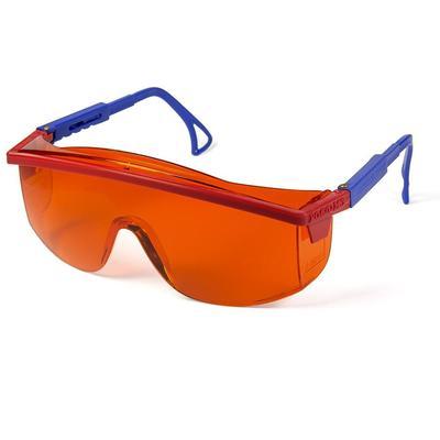 Очки защитные открытые универсальные РОСОМЗ О37 Universal Titan оранжевые (13712)