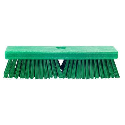 Щетка для пола Haccper 4502G 25.4 см жесткая щетина (зеленая)