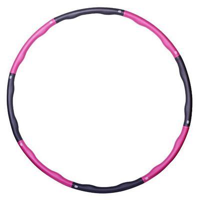 Обруч массажный пластиковый Start Up NT50613 100 см розовый/черный