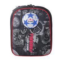Рюкзак школьный ортопедический Футбол черный