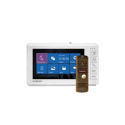 Комплект видеодомофона NOVIcam Smile 7 HD Kit (4807)
